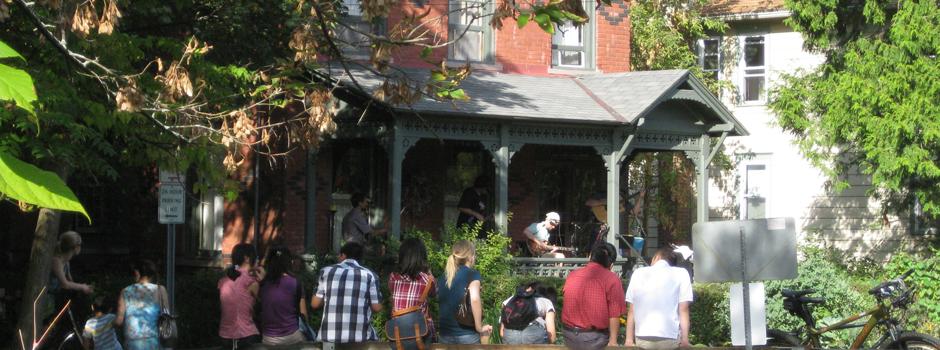 Porchfest, Ithaca, NY, since 2007